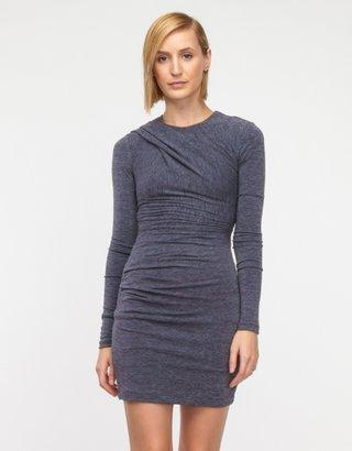 Alexander Wang Mohair Jersey L/S Dress