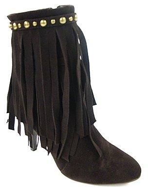 Jeffrey Campbell Women's Brown Suede Crank Boot