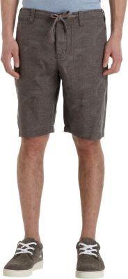 Vince Paisley Print Shorts