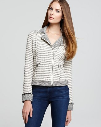 Ella Moss Jacket - Salinas Stripe Zip
