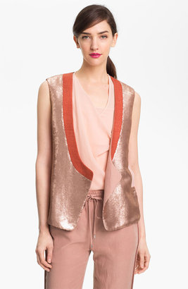 Diane von Furstenberg 'Joline' Sequin Vest