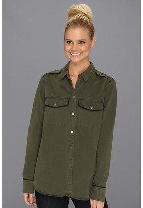 Sanctuary Army Shirt Jacket (Northern Green) - Apparel