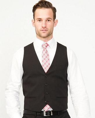 Le Château Stripe Wool Blend Contemporary Fit Vest