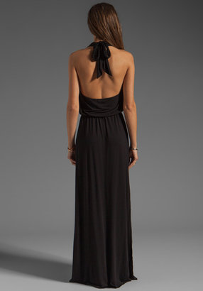Bobi Halter Maxi Dress