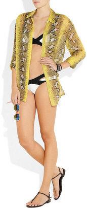 Agent Provocateur Mazzy cutout bikini briefs