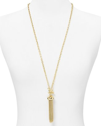 """The Natural Carolee Lux In Tassel Necklace, 32"""""""