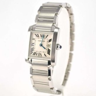 Cartier Midsize W51011Q3 Tank Francaise Stainless Steel Watch