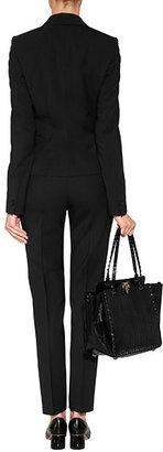 HUGO Stretch Wool Harlile-3 Pants in Black