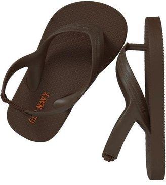 Old Navy Solid Heel Flip-Flops for Baby