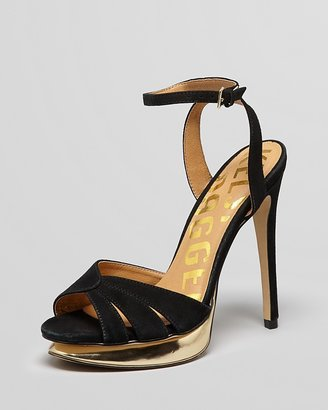 Kelsi Dagger Open Toe Platform Sandals - Chacha High Heel