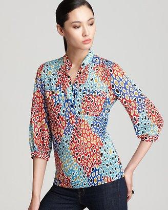 Trina Turk Shirt - Bentley Leopard Printed