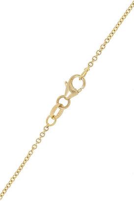 Anita Ko Triangle 18-karat gold diamond necklace