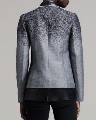 Alexander Wang Layered Zip-Trim Blazer