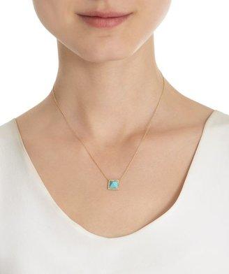 Jennifer Meyer Women's Pyramid Pendant Necklace-Colorless