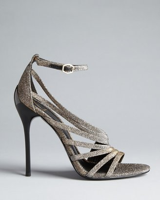Brian Atwood Strappy Evening Sandals - Lenisa High Heel