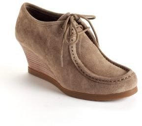 Lauren Ralph Lauren Denver Suede Wedge Ankle Boots