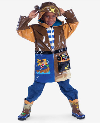 Kidorable Little Boys' Pirate Raincoat $54 thestylecure.com