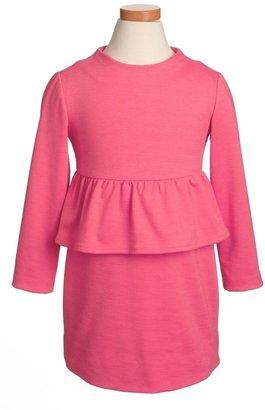 Milly Minis Peplum Dress (Big Girls)