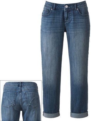 Elle distressed boyfriend jeans
