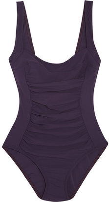 Karla Colletto Underwired ruched swimsuit