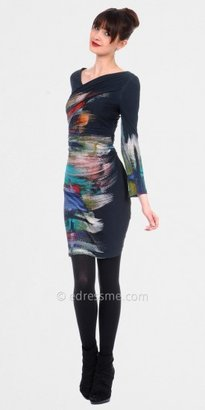 Kay Unger Ruched Sheath Day Dresses