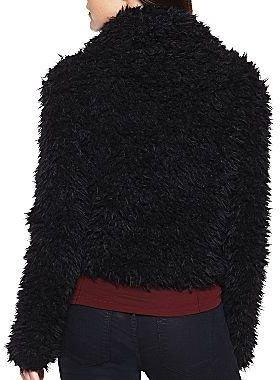 JCPenney Decree® Faux Fur Cropped Jacket
