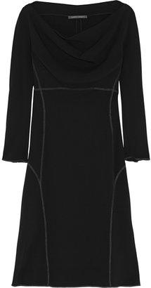 Alberta Ferretti Jersey-crepe dress
