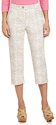 Westbound Stretch Waistband Capri Pants