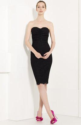 Dolce & Gabbana Strapless Lace Dress
