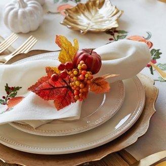 Sur La Table Harvest Pumpkin Napkin Ring