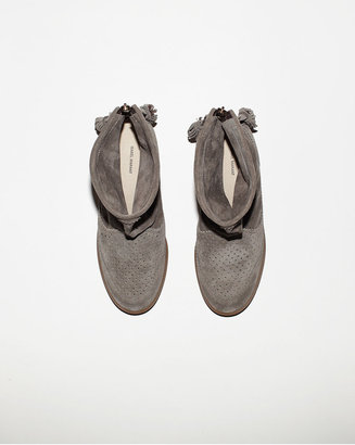Isabel Marant basley suede moccasin bootie