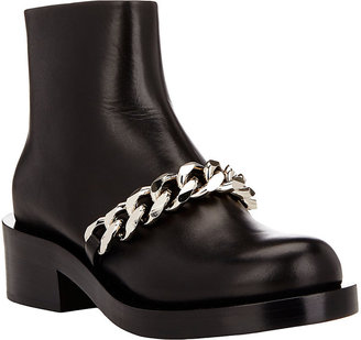 Givenchy Women's Laura Chain-Link Ankle Boots