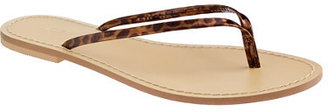 J.Crew Tortoise capri sandals