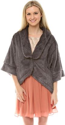 Shawl Fur Jacket