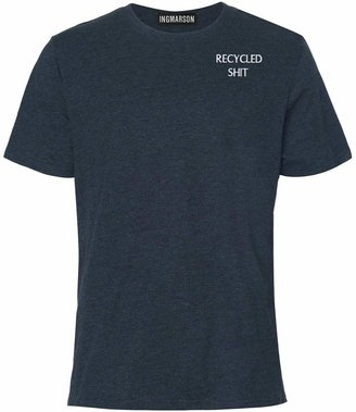 INGMARSON - Recycled Shit Embroidered T-Shirt Men