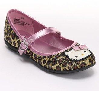 Hello Kitty lily leopard ballet flats - girls