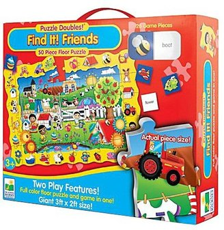The Learning Journey Puzzle Doubles Find It! Friends Floor Puzzle