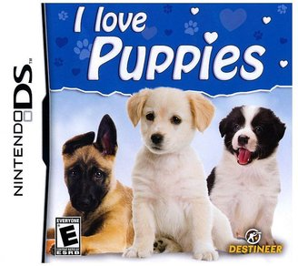 Nintendo I love puppies for ds
