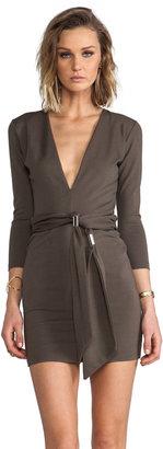 Bec & Bridge BEC&BRIDGE Exclusive Jaguar Long Sleeve Dress with Tie