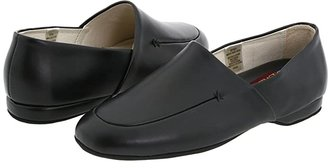 L.B. Evans Duke Opera (Black Leather) Men's Slippers