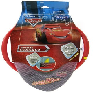 Disney / pixar cars rev & go sounds potty seat by the first years