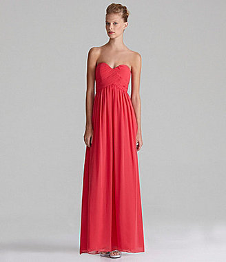 Calvin Klein Strapless Sweetheart Gown