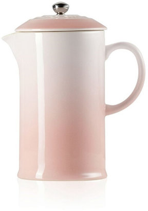 Le Creuset Stoneware Cafetiere Shell Pink