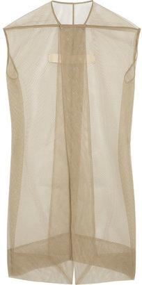 Rick Owens Plain Mantle mesh jacket