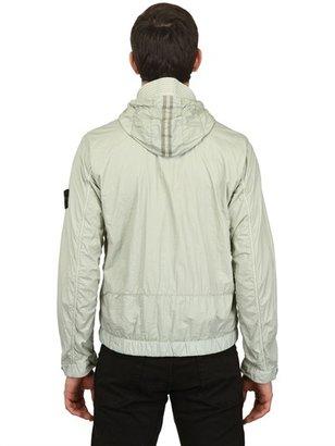 Stone Island Waterproof Dyed Nylon Casual Jacket