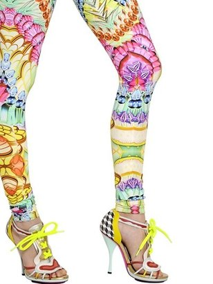 Manish Arora Printed Stretch Jersey Leggings