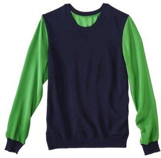 3.1 Phillip Lim for Target® Pullover -Navy/Green