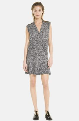 Sandro 'Remini' Faux Wrap Dress