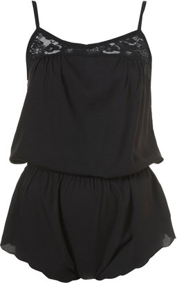 Topshop Lace Insert Teddy