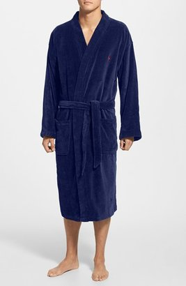 Men's Polo Ralph Lauren Velour Kimono Robe $90 thestylecure.com